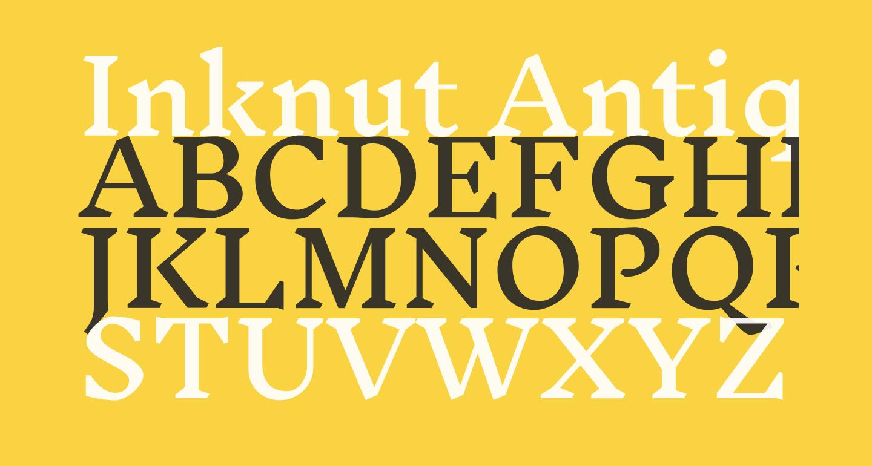 Inknut Antiqua Medium