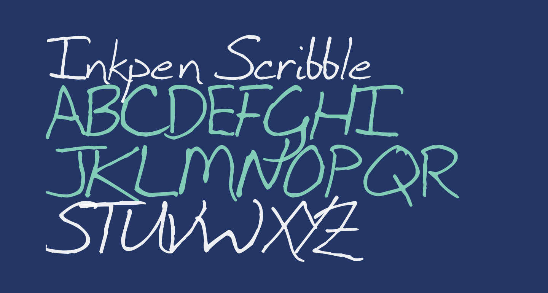 Inkpen Scribble