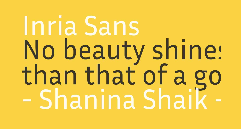 Inria Sans
