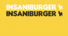 Insaniburger with Cheese