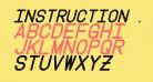 Instruction Italic