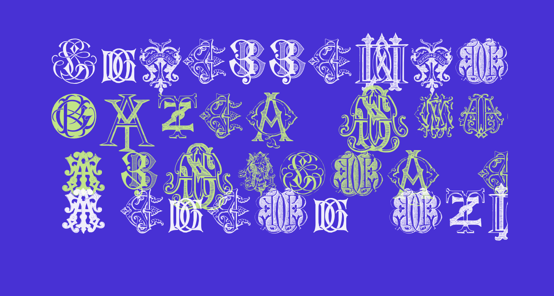 Intellecta Monograms Random Samples Two