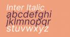Inter Italic