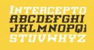Interceptor Semi-Italic