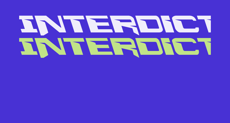 Interdiction Leftalic