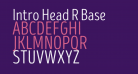 Intro Head R Base