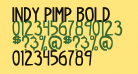indy pimp Bold