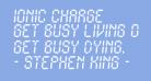 Ionic Charge