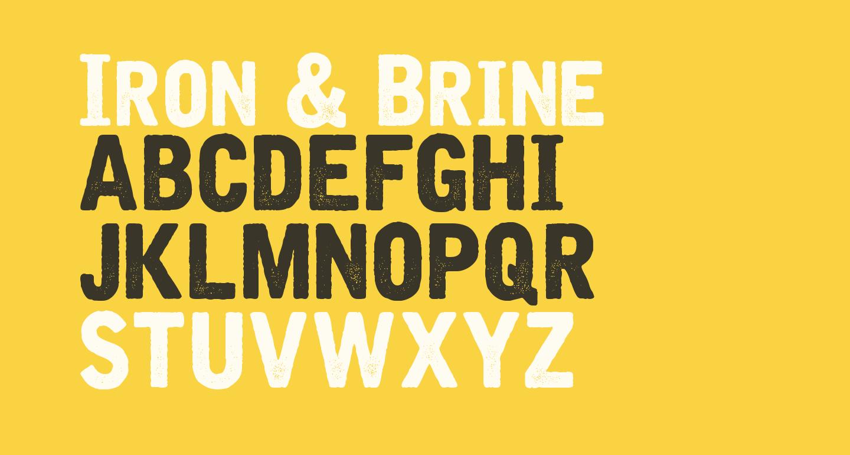Iron & Brine