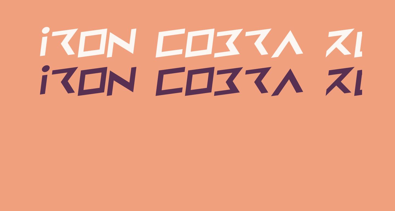 Iron Cobra Rotalic