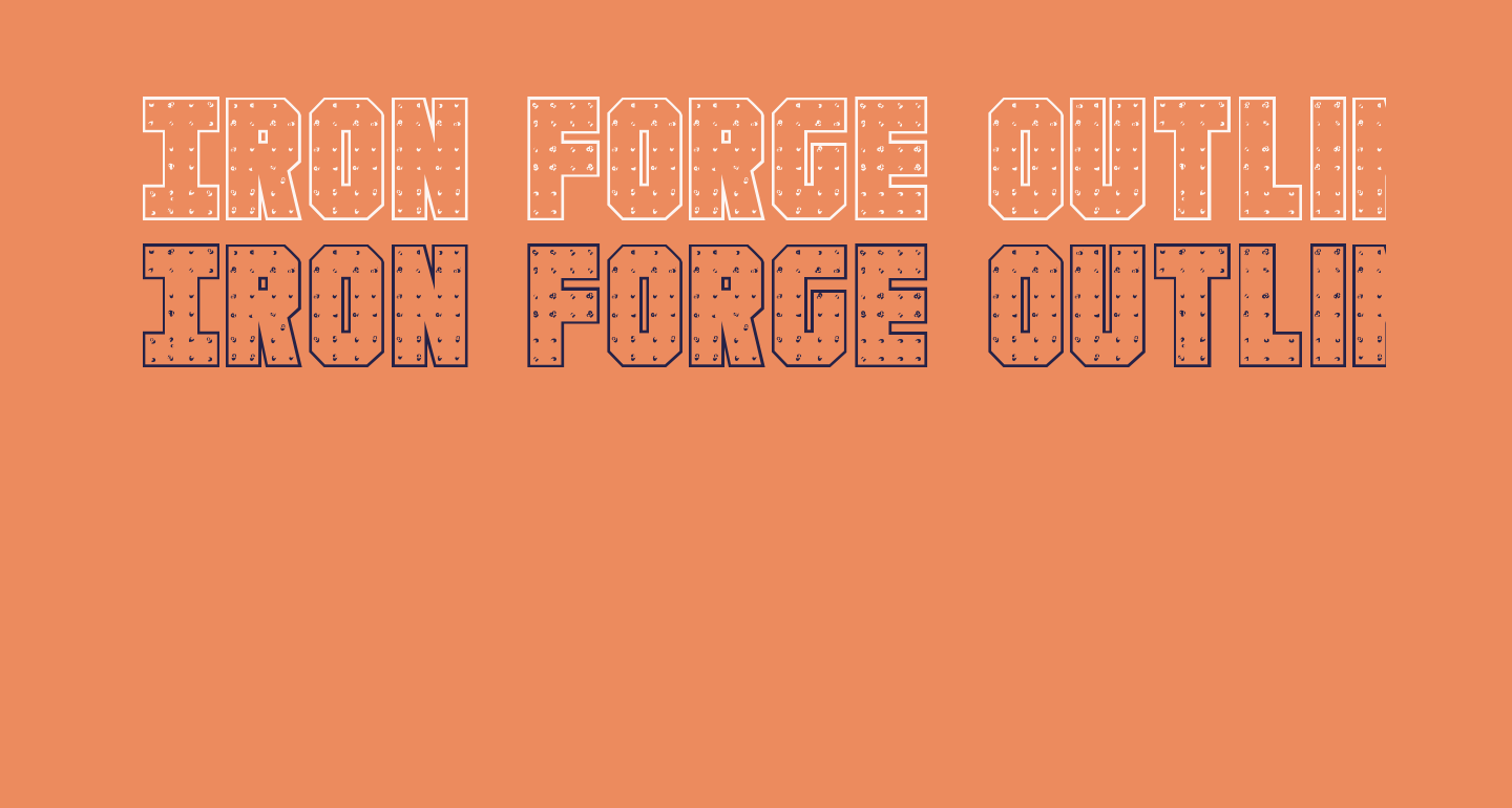 Iron Forge Outline Regular