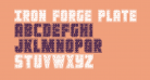 Iron Forge Plate Regular