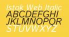 Istok Web Italic