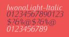 IwonaLight-Italic