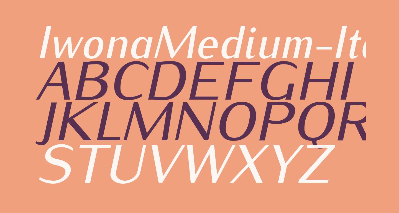 IwonaMedium-Italic