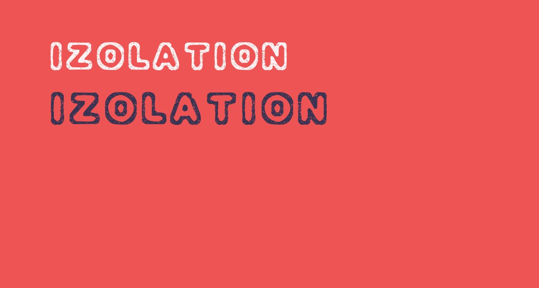 Izolation