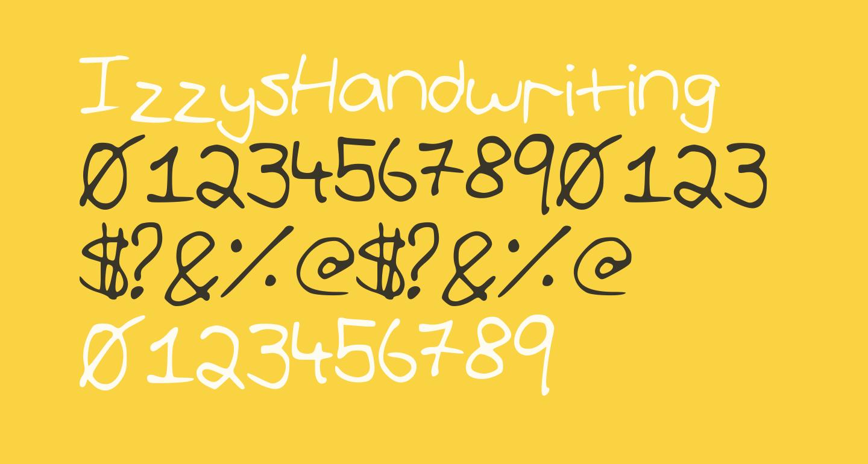 IzzysHandwriting