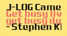 J-LOG Cameron Edge Serif Normal