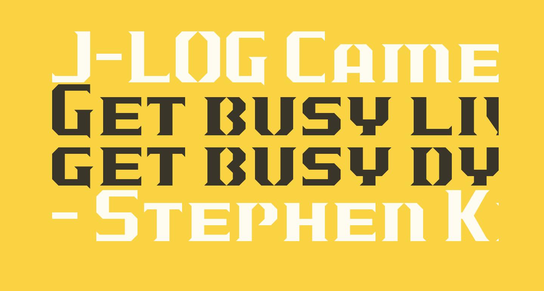 J-LOG Cameron Edge Serif Small Caps
