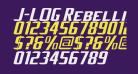 J-LOG Rebellion Sans Small Caps Italic