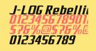 J-LOG Rebellion Serif Normal Italic