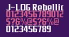 J-LOG Rebellion Serif Normal