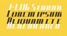J-LOG Starkwood Serif Small Caps Italic