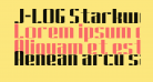 J-LOG Starkwood Slab Sans Normal