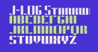 J-LOG Starkwood Slab Sans Small Caps