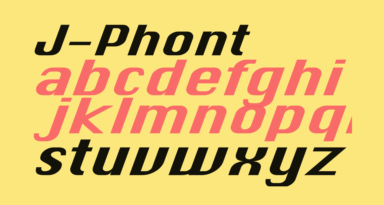 J-Phont