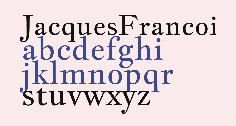JacquesFrancois-Regular