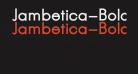 Jambetica-Bold