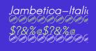 Jambetica-Italic