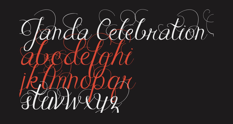 Janda Celebration Script