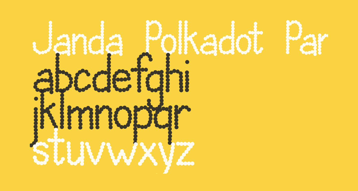 Janda Polkadot Party