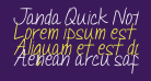 Janda Quick Note