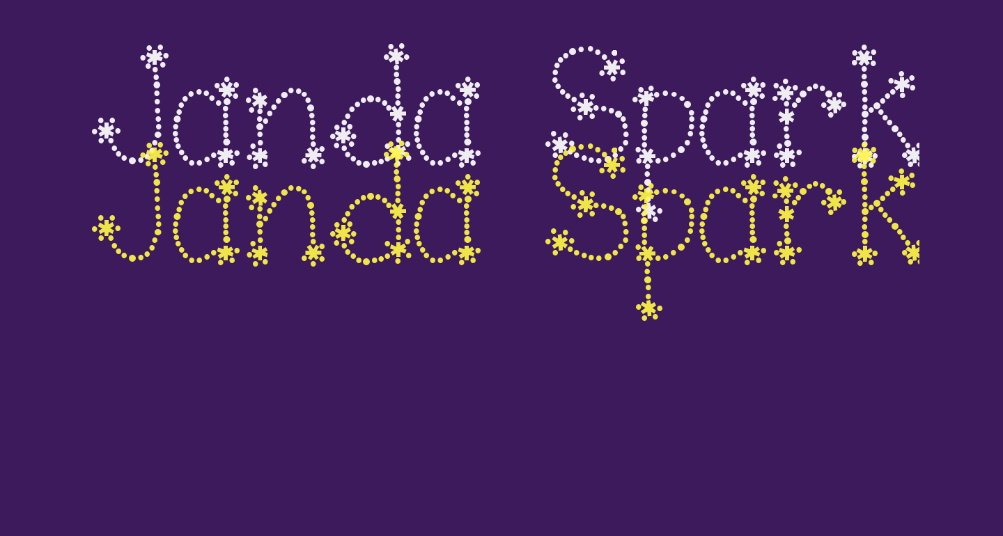 Janda Sparkle and Shine Bold
