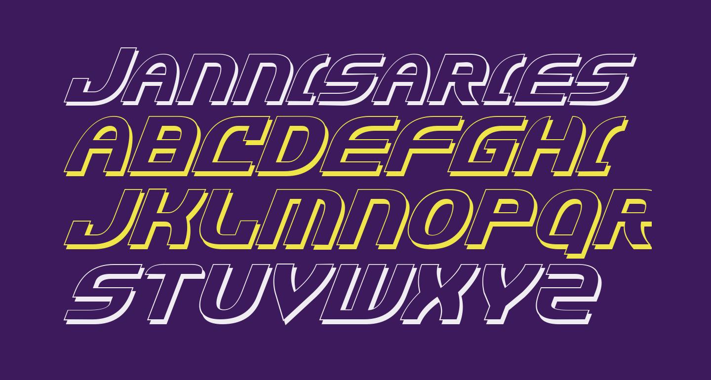 Jannisaries Shadow Italic