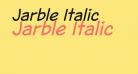 Jarble Italic