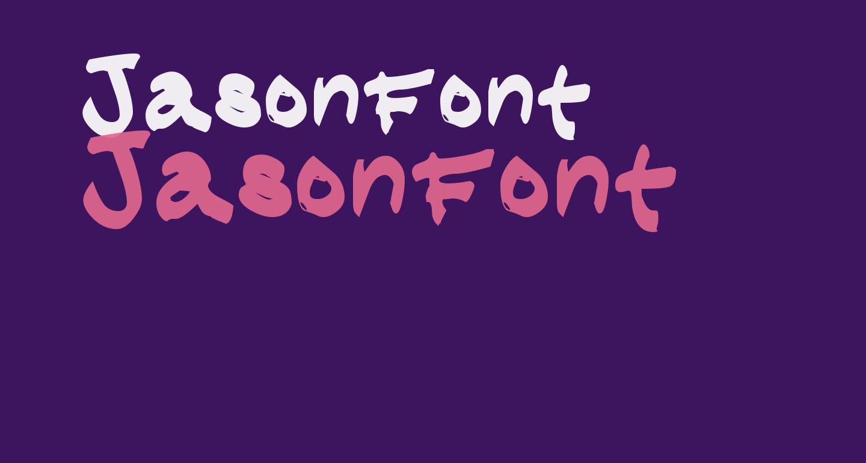 JasonFont