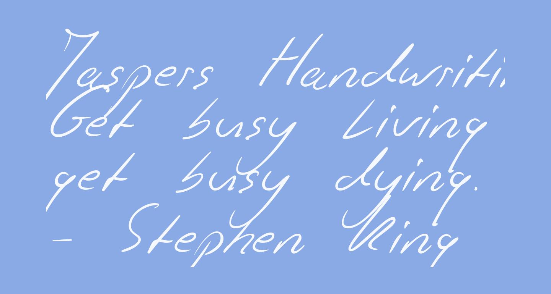 Jaspers Handwriting Regular