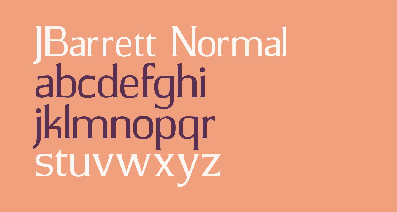 JBarrett Normal