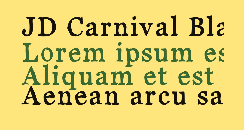 JD Carnival Black