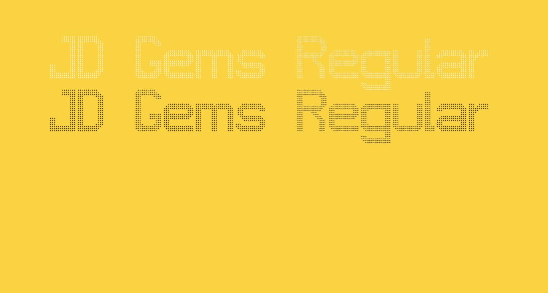 JD Gems Regular