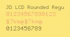 JD LCD Rounded Regular