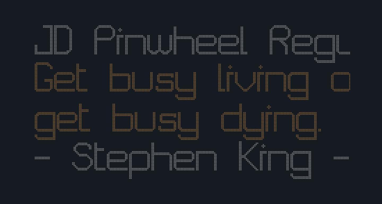 JD Pinwheel Regular