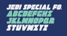 Jedi Special Forces Condensed Italic