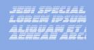 Jedi Special Forces Gradient Italic