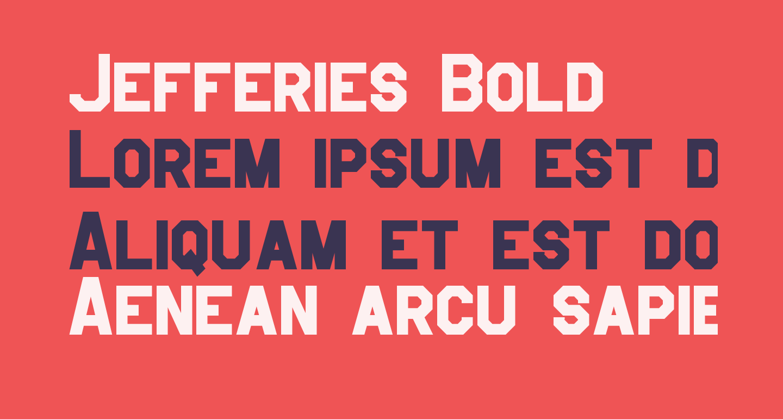 Jefferies Bold