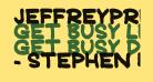 JeffreyPrint JL Bold